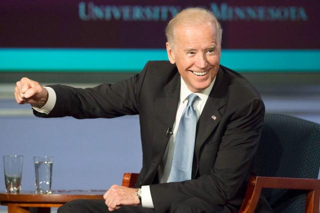 Le vice-président américain, Joe Biden... (AP, Molly Riley)