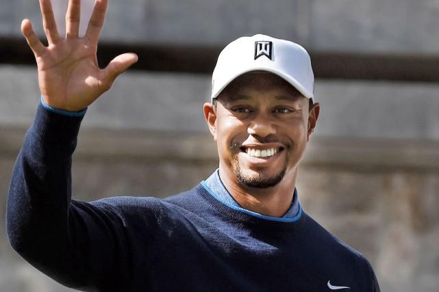 Tiger Woods a confié qu'il n'avait toujours pas... (AFP, Alfredo Estrella)