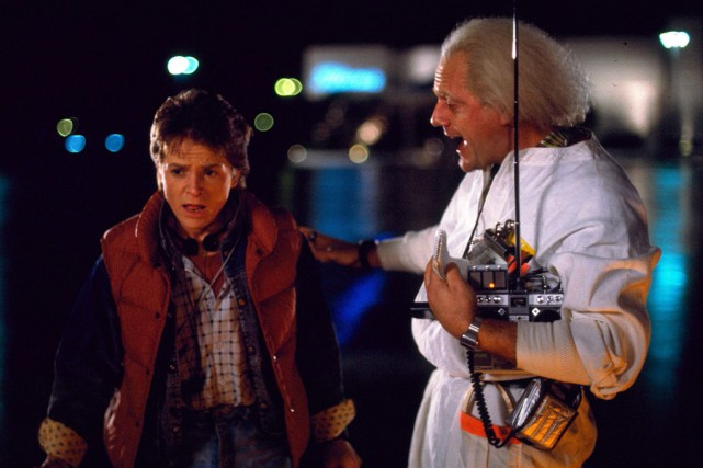 La vedette de Back to the future Christopher Lloyd aimerait... (Archives La Presse Canadienne)