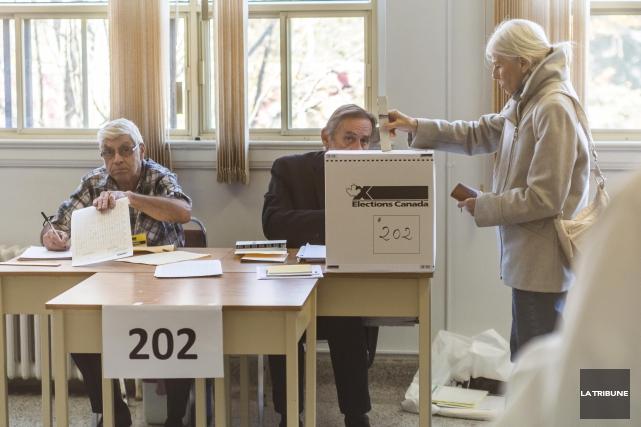 Le taux de participation dans les circonscriptions de... (Imacom, Frédéric Côté)