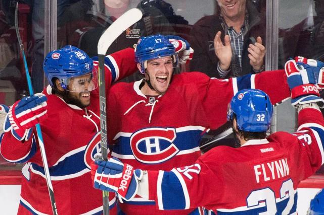 Le Canadien a signé mardi soir une septième... (La Presse Canadienne)