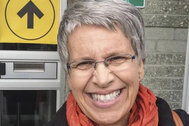Selon Élections Canada, la néo-démocrate Brigitte Sansoucy (photo)... (Tirée de Facebook)