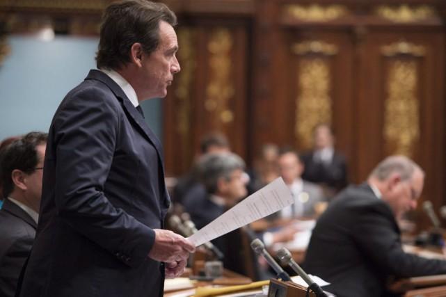 «J'en conclus que le gouvernement, le premier ministre... (Archives La Presse Canadienne)