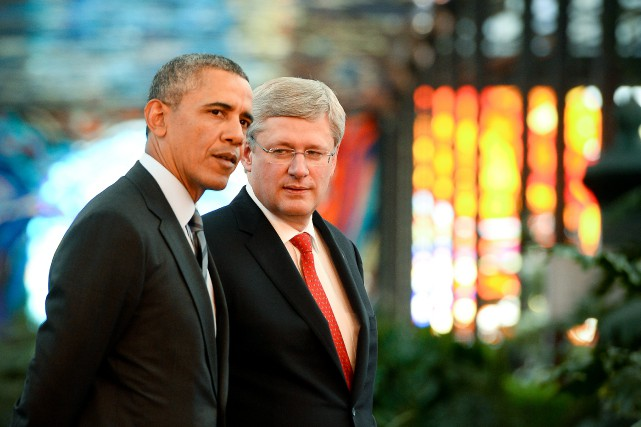 Aux yeux de l'administration Obama, le Canada de... (PHOTO JEWEL SAMAD, ARCHIVES AGENCE FRANCE-PRESSE)