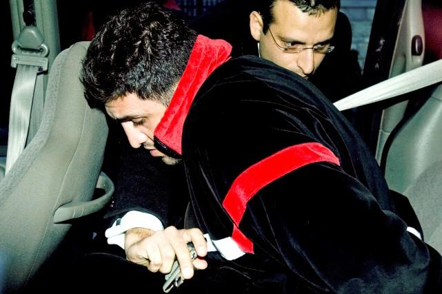 Arrêté dans la rafle antimafia Colisée en novembre... (Photo Alain Roberge, archives La Presse)