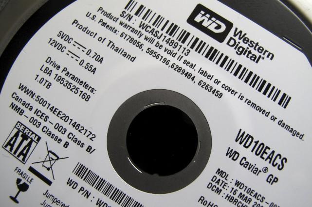 Le groupe américain de composants informatiques Western Digital (WDC)... (Photo archives Reuters)