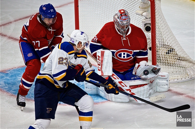 Relisez la couverture du match entre le Canadien et les Blues de St. Louis avec... (Photo André Pichette, La Presse)