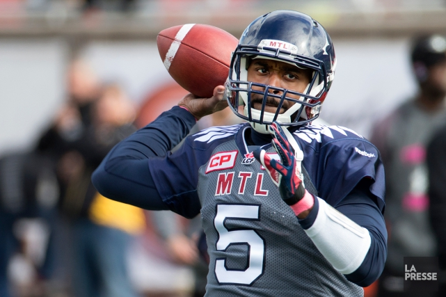 Kevin Glenn... (Photo Robert Skinner, La Presse)