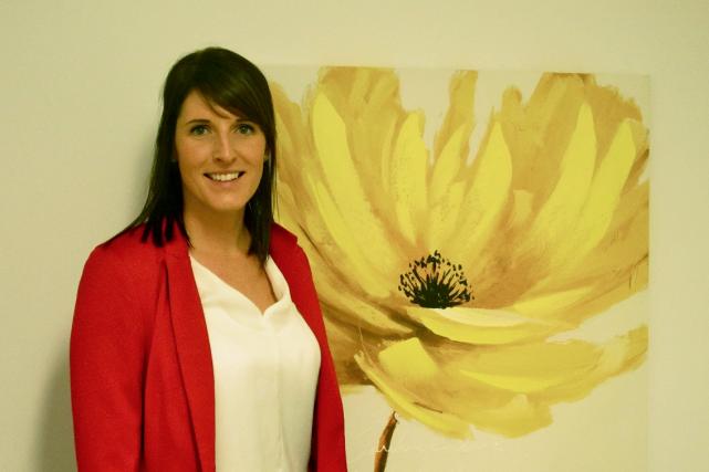 Mireille Cliche est travailleuse sociale. Elle travaille pour... (Photo collaboration spéciale Gabrielle Thibault-Delorme)
