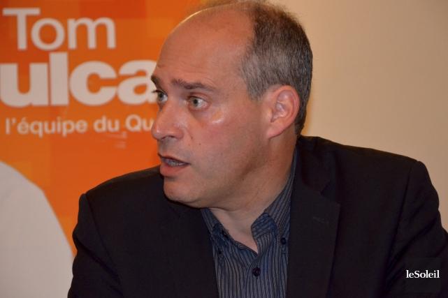 Guy Caron, député du NPD dans Rimouski-Neigette-Témiscouata-Les Basques... (Photo Johanne Fournier, collaboration spéciale Le Soleil)