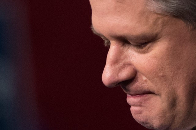 Stephen Harper.... (Photo Darryl Dyck, La Presse Canadienne)