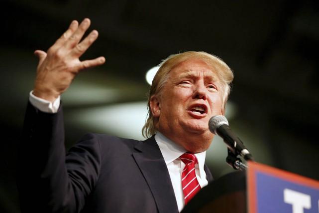 Comme aucun républicain ne l'avait osé auparavant, Donald... (PHOTO CHRIS KEANE, ARCHIVES REUTERS)