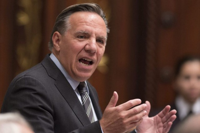 Le chef de la Coalition avenir Québec, François... (PHOTO ARCHIVES LA PRESSE CANADIENNE)