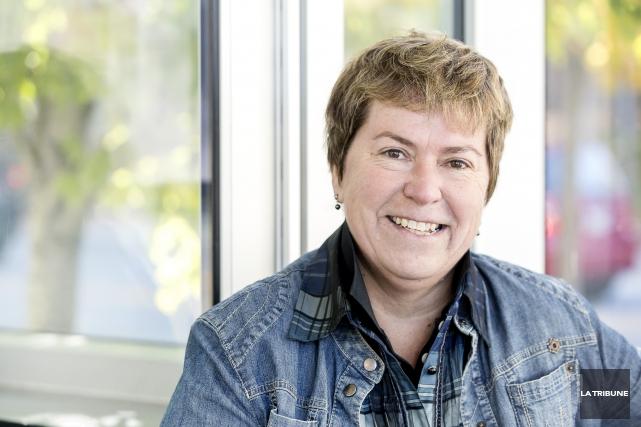 Sylvie-L. Bergeron, présidente du Conseil de la culture... (IMACOM, JOCELYN RIENDEAU)
