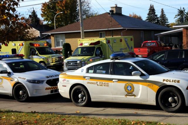 La division des crimes contre la personne de la Sûreté du Québec enquête... (Photo collaboration spéciale Éric Beaupré)