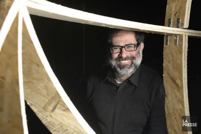 Le metteur en scène Hanna Abd El Nour... (PHOTO BERNARD BRAULT, LA PRESSE)