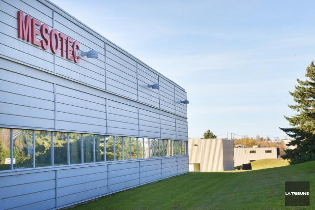 Les installations de la compagnie esotec sont situées... (Imacom, Julien Chamberland)