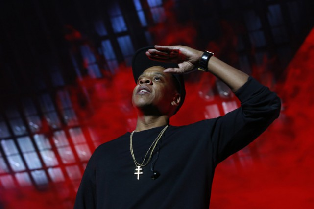 Jay Z... (PHOTO AP)