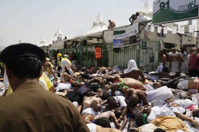 Plus de 2100 personnes sont mortes dans la bousculade au pèlerinage de La... (PHOTO AP)