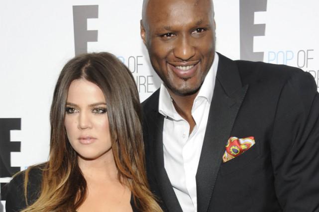 Khloe Kardashian etLamar Odom en novembre 2012.... (ARCHIVES AP)