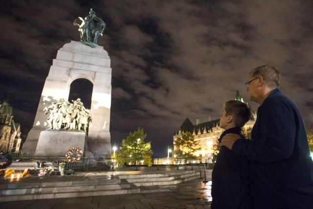 L'événement vise aussi à souligner le courage des... (Justin Tang, Archives La Presse Canadienne)