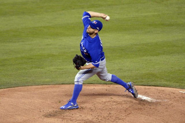 Le lanceur partant des Blue Jays Marco Estrada... (PHOTO REUTERS)