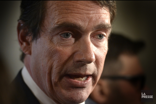 Pierre Karl Péladeau... (Photo d'archives, La Presse)