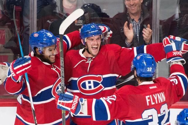 Les joueurs du Canadien commencent à être à... (La Presse Canadienne, Graham Hughes)