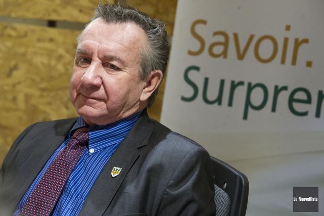 Cléo Marchand, ancien vice-recteur de l'UQTR.... (Stéphane Lessard, Le Nouvelliste)