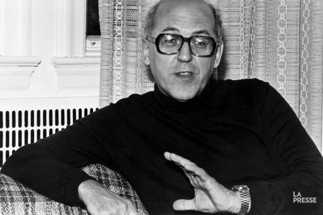 Gilles Marcotte, en 1976... (Archives, La Presse)