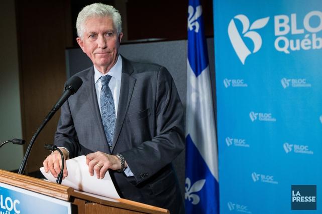 Gilles Duceppe doit rencontrer la presse jeudi à... (La Presse, Édouard Plante-Fréchette)