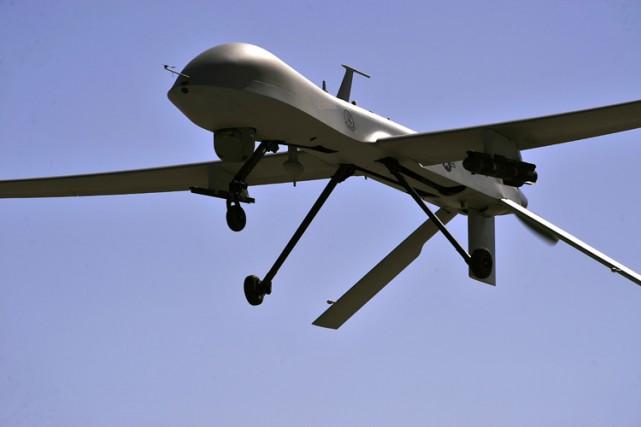L'armée de l'air américaine a récemment perdu deux drones armés en Irak et en... (PHOTO AFP)