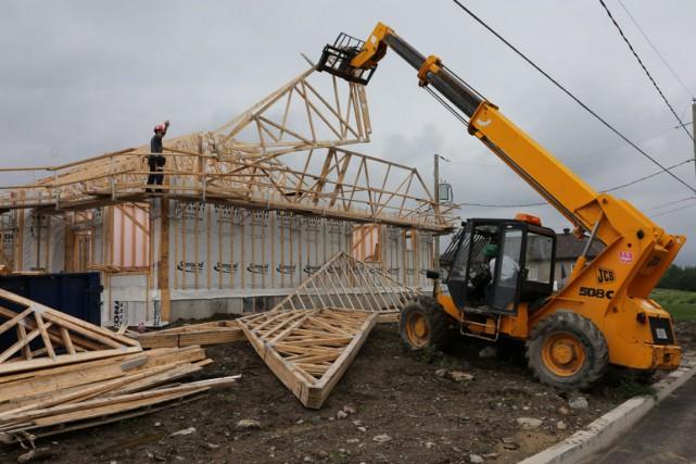 En ce qui concerne le marché de l'habitation,... (Archives)