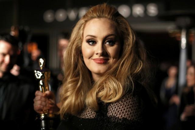 En 2013, Adele a obtenu l'Oscar de la... (ARCHIVES REUTERS)
