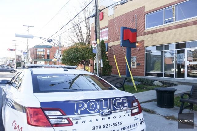 Le Service de police de Sherbrooke recherche un... (Imacom, René Marquis)