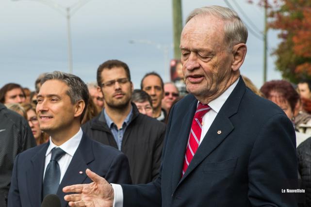 L'ex-premier ministre Jean Chrétien a une grande confiance... (Olivier Croteau, Le Nouvelliste)