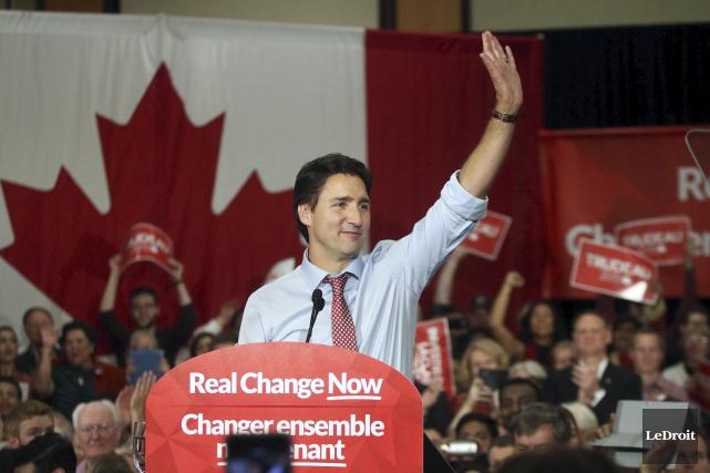 Justin Trudeau a beau ne pas être tout... (Etienne Ranger, LeDroit)