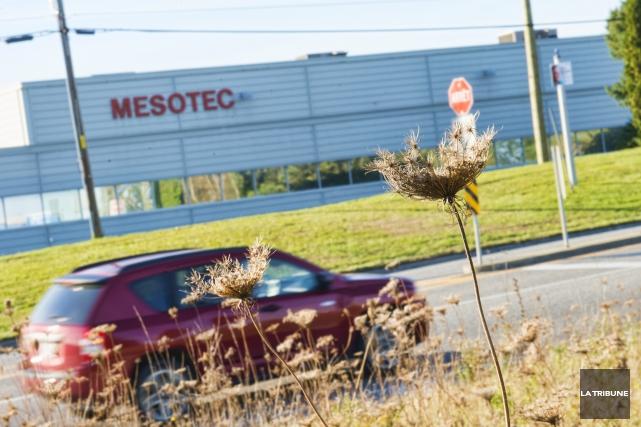 L'entreprise Mesotec, située dans le parc industriel de... (Imacom, Julien Chamberland)