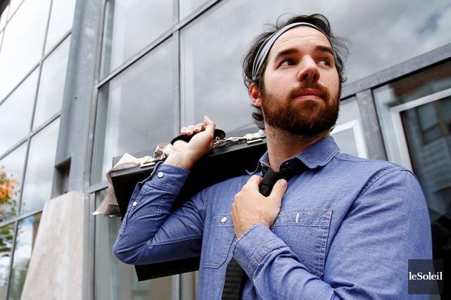 Le réalisateur de Québec Samuel Matteau travaille depuis... (Photothèque Le Soleil, Yan Doublet)