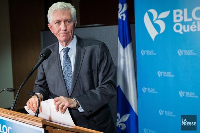 Gilles Duceppe doit rencontrer la presse jeudi à... (Édouard Plante-Fréchette, La Presse)