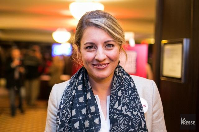 Mélanie Joly, élue dans Ahuntsic-Cartierville, pourrait être nommée... (Archives, La Presse)