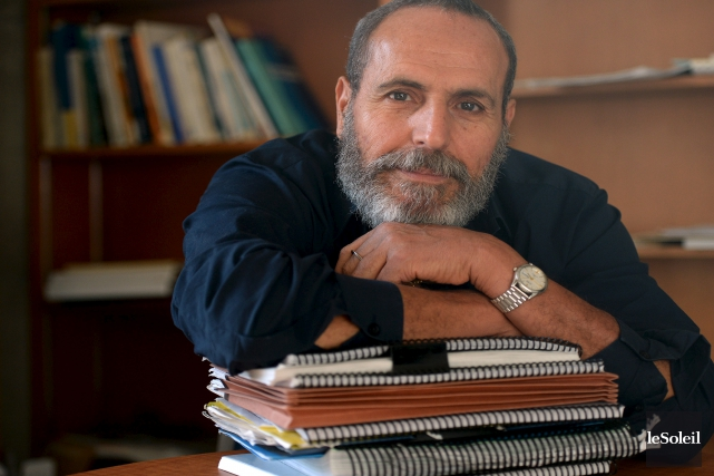 Le professeur Mustapha Bettache trouvait illogique d'écrire ses... (Le Soleil, Erick Labbé)