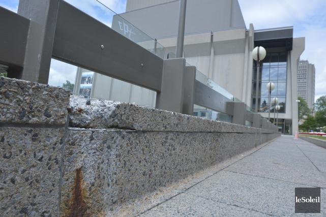 Le Grand Théâtre de Québec souffre de«dégradation irréversible»depuis... (Photothèque Le Soleil, Jean-Marie Villeneuve)