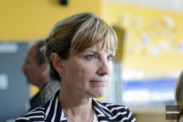 La chef de l'Équipe du Renouveau démocratique (ERD),... (Archives Le Quotidien, Jeannot Lévesque)