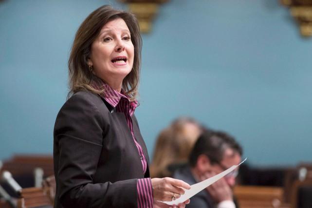 La députée péquiste de Taillon et critique en... (La Presse Canadienne, Jacques Boissinot)