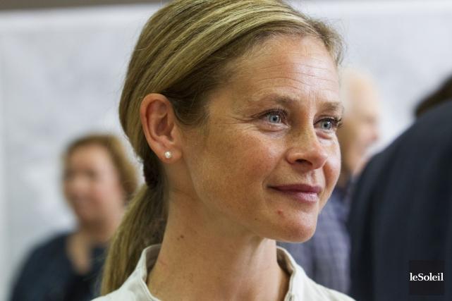 Marie-Josée Normand du Parti libéral du Canada a... (PHOTO CAROLINE GRÉGOIRE, ARCHIVES LE SOLEIL)