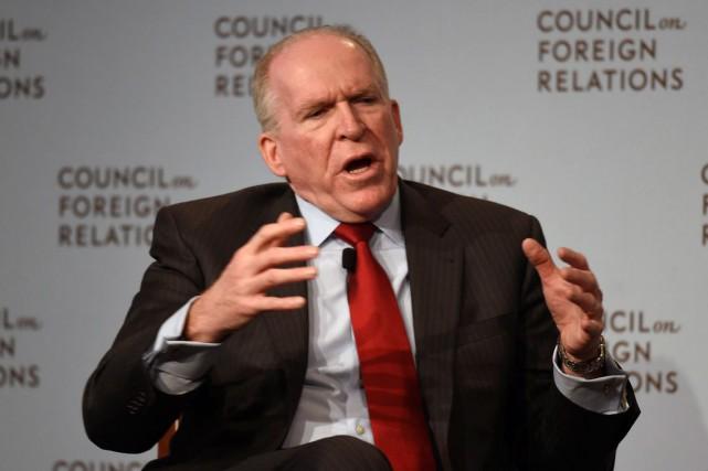 Le directeur de la CIA, John Brennan... (Archives, Agence France-Presse)
