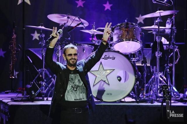 Tout le monde aime Ringo. Les avis sont partagés sur le batteur, plus encore... (PHOTO MARTIN CHAMBERLAND, LA PRESSE)