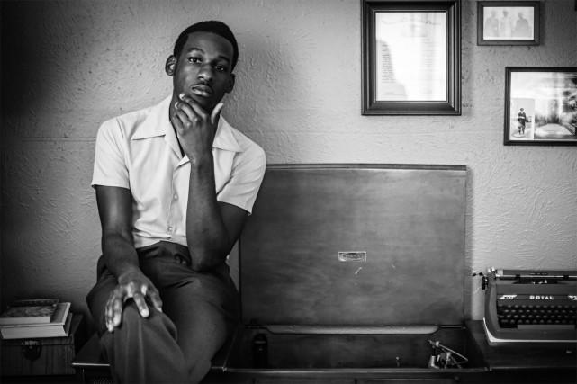 Lors de notre entretien téléphonique, le chanteur soul Leon Bridges se trouve à... (PHOTO FOURNIE PAR COLUMBIA RECORDS)