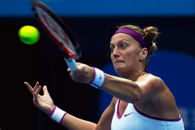 Petra Kvitova... (Photo Andy Wong, AP)
